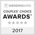 Wedding Wire Couples Choice Award